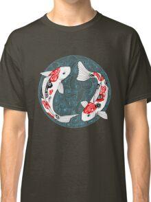 Fish carp koi blue Classic T-Shirt