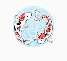 Fish carp koi blue T-Shirt