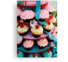 Let Them Eat Cupcakes Canvas Print