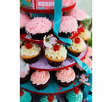 Let Them Eat Cupcakes Photographic Print
