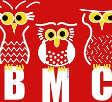 BMC Owls - Red by ArtWithDogBMC