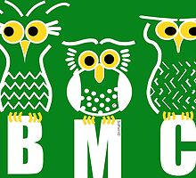 BMC Owls - Green by ArtWithDogBMC