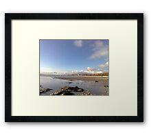 Bridlington Big Skies Framed Print