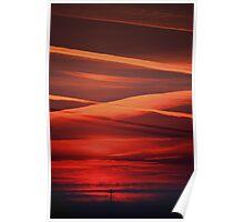 Sunset at Pisa Poster
