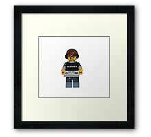 LEGO Gamer Framed Print