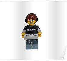 LEGO Gamer Poster
