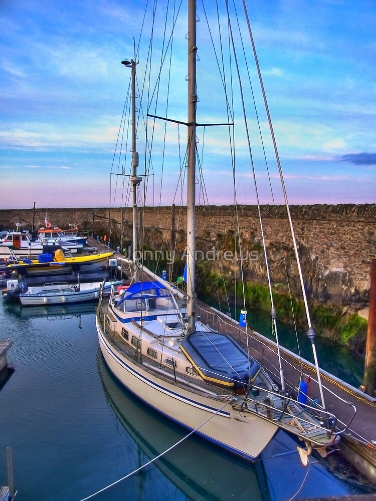 Donaghadee marina by jonny andrews redbubble for Home decor newtownards