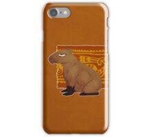 Grumpy Capybara iPhone Case/Skin