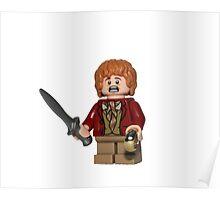 LEGO Bilbo Baggins Poster