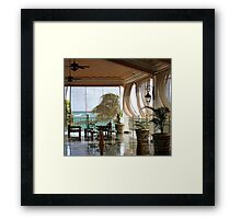 Stormy Weather Framed Print