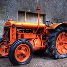 Tractor At Castle Ward by Jonny Andrews