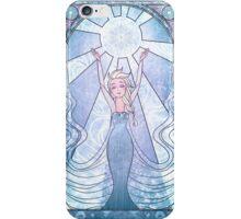 Disney: Frozen princess Elsa Vitrail style  iPhone Case/Skin