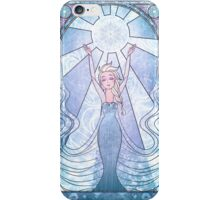 Disney: Frozen princess Elsa Vitrail style  iPhone Case/Skin
