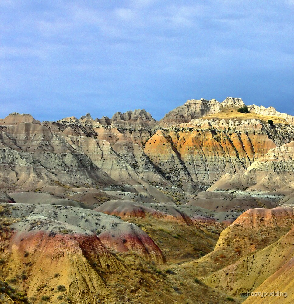 Conata Valley in the Badlands National park by hastypudding