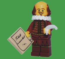 LEGO William Shakespeare Baby Tee