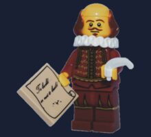 LEGO William Shakespeare Kids Tee
