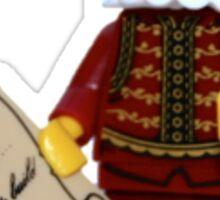 LEGO William Shakespeare Sticker