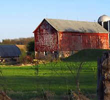 Barn along Rustic Road by James Formo