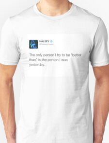HALSEY - A better person T-Shirt