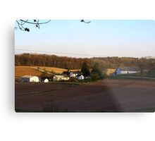 Waukesha County Farmland Metal Print