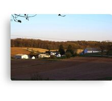 Waukesha County Farmland Canvas Print