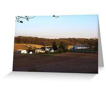 Waukesha County Farmland Greeting Card