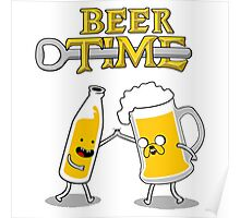 Time For Beer Poster