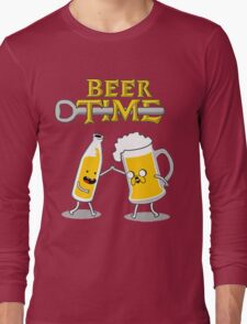 Time For Beer Long Sleeve T-Shirt