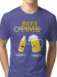 Time For Beer Tri-blend T-Shirt