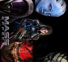 Mass Effect crew by LaneBrock