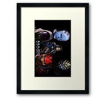 Mass Effect crew Framed Print