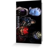 Mass Effect crew Greeting Card