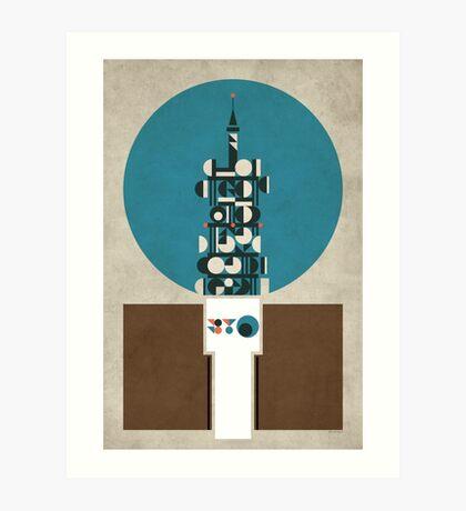 Birmingham BT Tower Art Print
