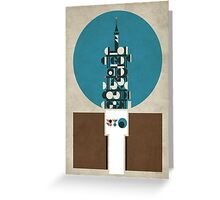 Birmingham BT Tower Greeting Card