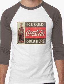 Ice Cold Soda Men's Baseball ¾ T-Shirt