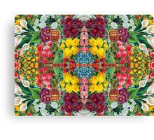 Floral Remix 5 Canvas Print