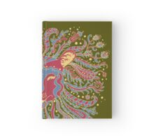 Paisley Lion Hardcover Journal