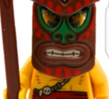 LEGO Island Warrior Sticker