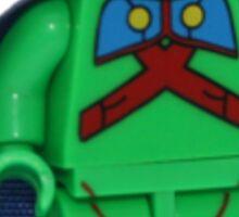 LEGO Martian Manhunter Sticker