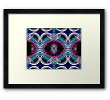 Turquoise Tourniquet Framed Print