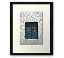 Set Into Scales Framed Print