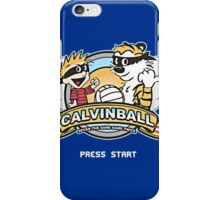 Game of Calvin and Hobbes iPhone Case/Skin