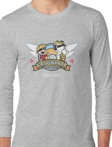 Game of Calvin and Hobbes Long Sleeve T-Shirt