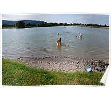 Small Lake. Eichsee. Germany. Poster