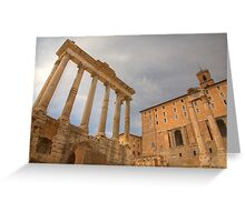 Historic Centre of Rome, Italy Greeting Card
