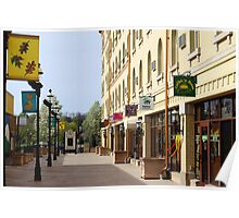 Downtown Waukesha Shops Poster
