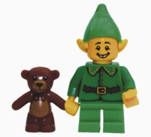 LEGO Elf with Teddy Bear One Piece - Short Sleeve