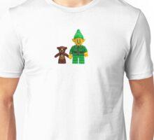 LEGO Elf with Teddy Bear Unisex T-Shirt