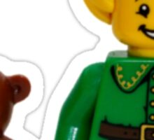 LEGO Elf with Teddy Bear Sticker