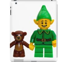 LEGO Elf with Teddy Bear iPad Case/Skin